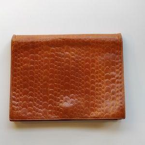 Vintage Ann Taylor Leather Clutch